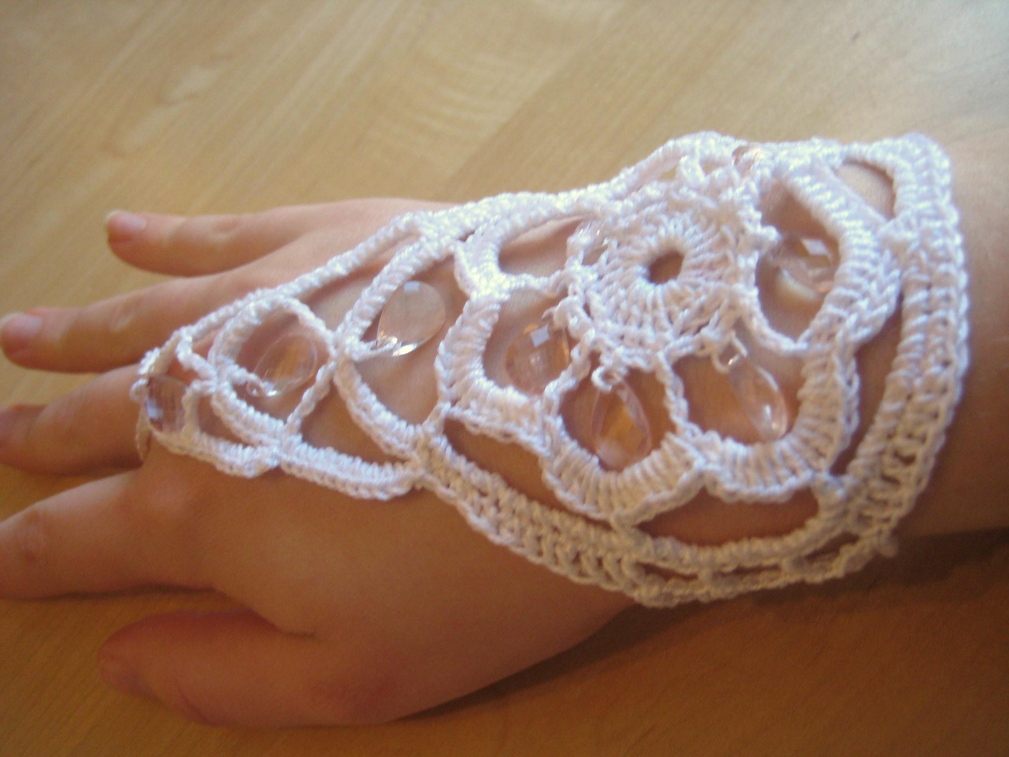 Beaded Bracelet Ring Make My Day Creative