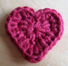 Crochet Heart Motif