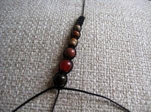 6 beads on...