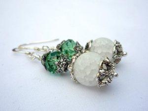 Handmade earrings for sale by Little Koo