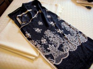 Remnant and lining fabric