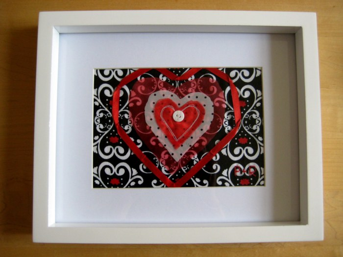 Fabric Heart Picture