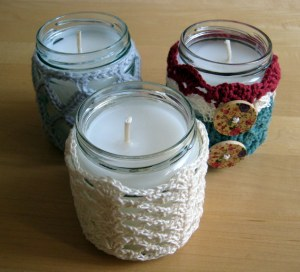 Mix and match crochet candles patterns!