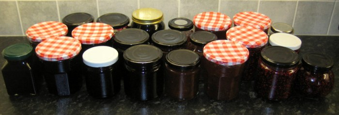22 jars of jam later... :)