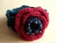 Finished Beaded Poppy Bracelet (1)