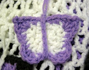 Medium Butterfly crochet pattern