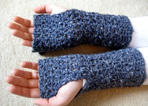 Reverse side of gloves