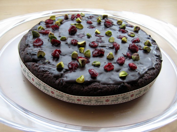 Festive Chocolate Mudcake recipe