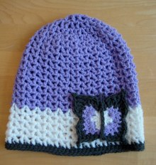 Butterfly hat - quick and cute attern