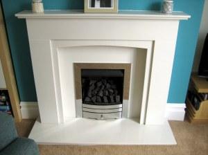 Lovely new fireplace