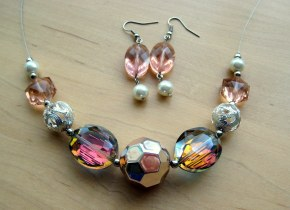 Pink Facets Jewellery