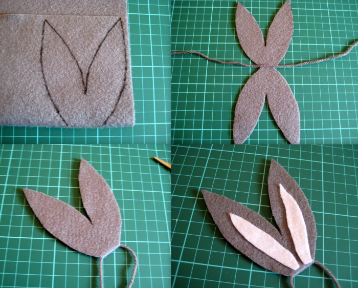 Making bunny ears