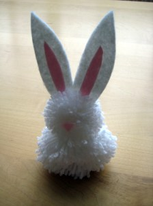 White Easter Bunny project