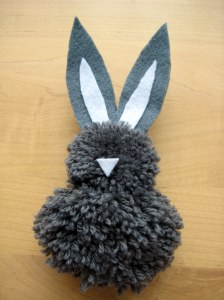 Grey Easter Bunny Project
