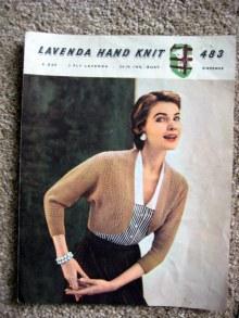 Knitted vintage shrug