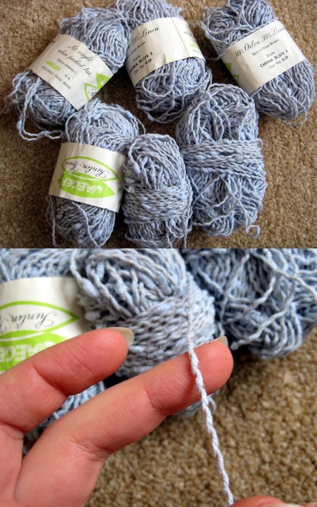 Linen-mix vintage fibre