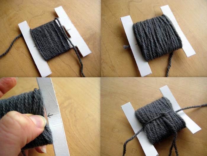 How to make a quick pompom