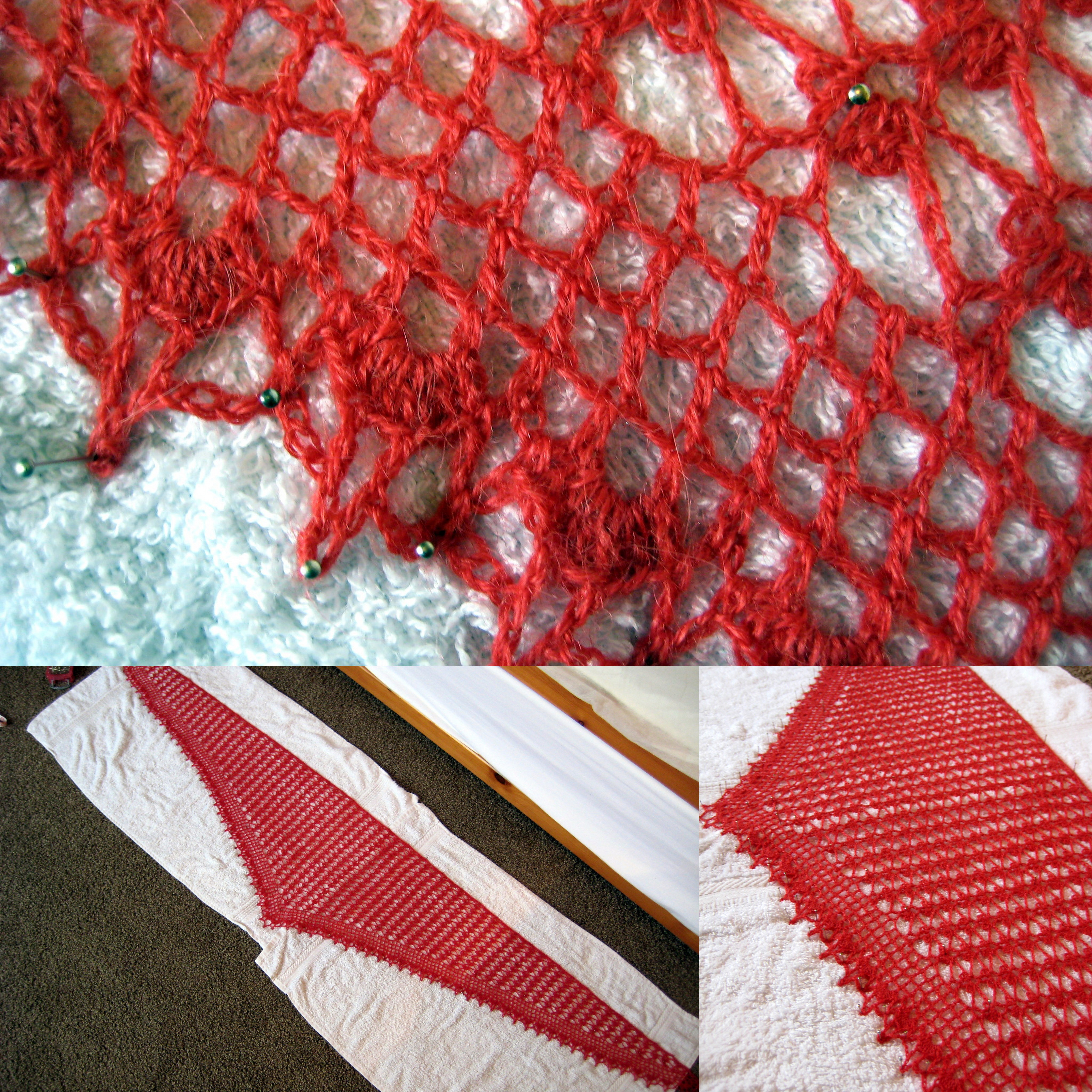 Summer sprigs lace scarf make my day creative blocking out the summer sprig lace scarf bankloansurffo Gallery