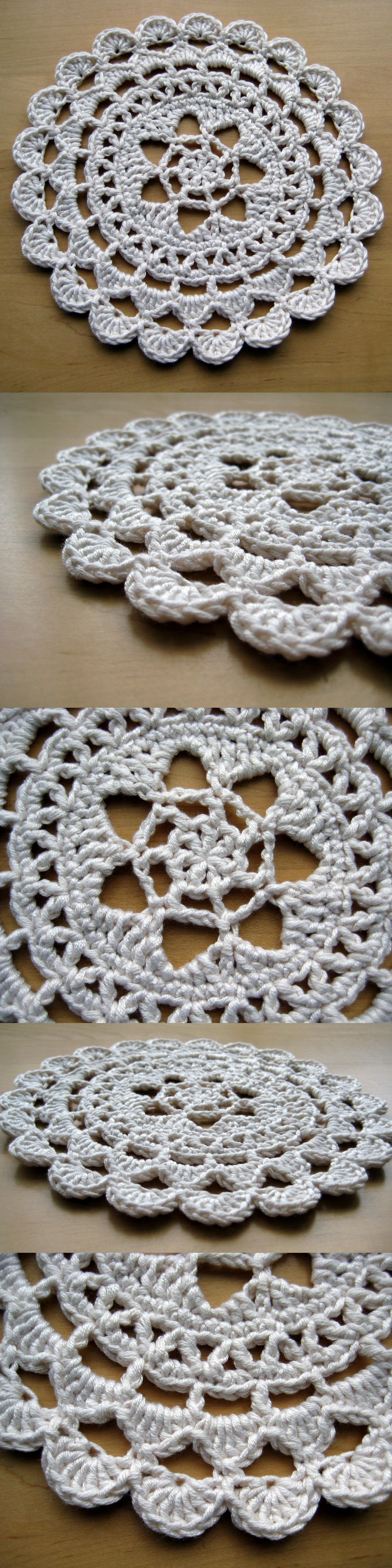 Passion flower doily make my day creative pretty passion flower doily free pattern in dk weight yarn bankloansurffo Image collections