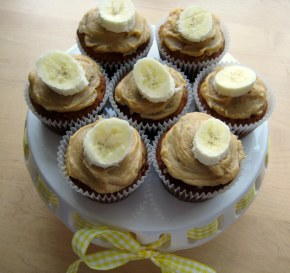 Banana and Peanut Butter Swirl Muffins
