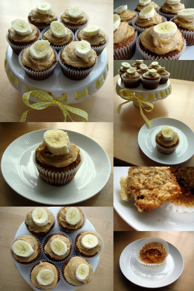 Yummy Banana and Peanut Butter Swirl Muffins Recipe :)