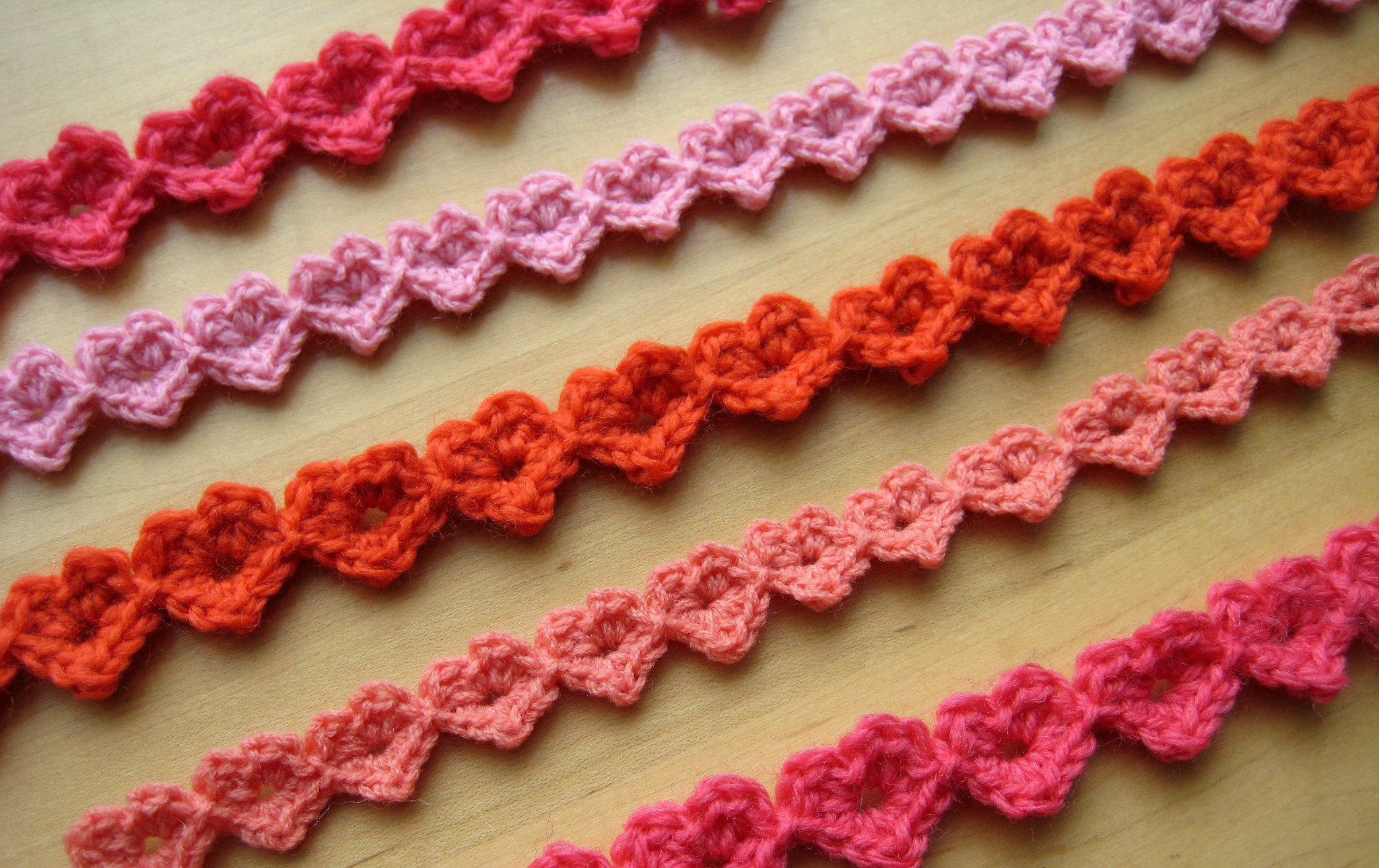 Heart strings make my day creative heart strings 2 row pattern bankloansurffo Images
