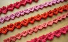 Heart Strings - a free 2 row crochet pattern from Make MY Day Creative