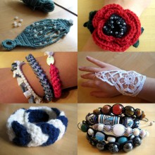 Bracelet Patterns & Tutorials Round up from Make My Day Creative
