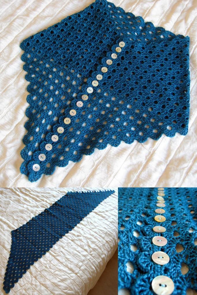 Multiplicity Shawl details