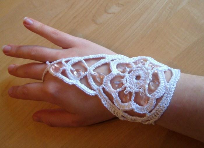 Beaded Bracelet-Ring