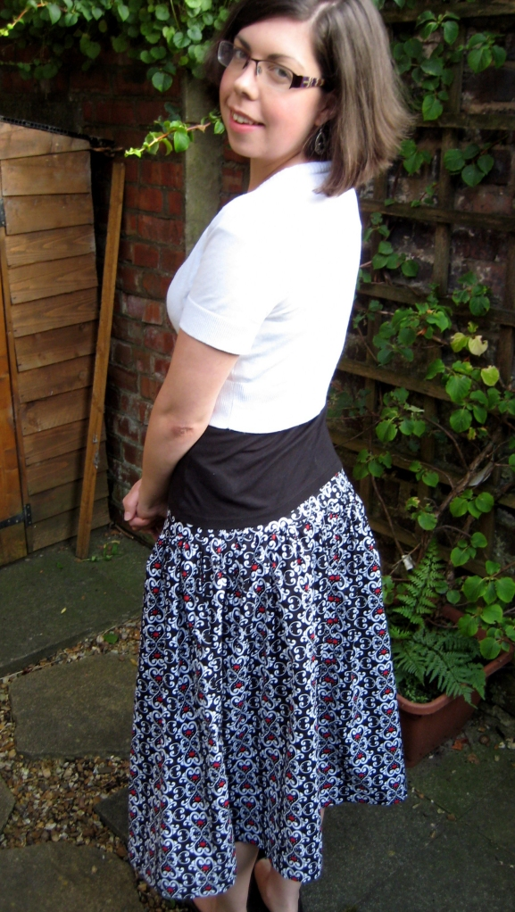 My new calf length skirt