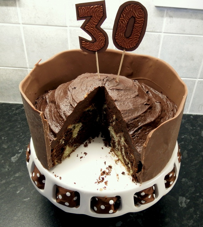 Chocolate-to-the-Max Cake for a chocolate lover's birthday