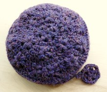 Pocket Full of Posies Pouch - Free Crochet Pattern from makemydaycreative.com