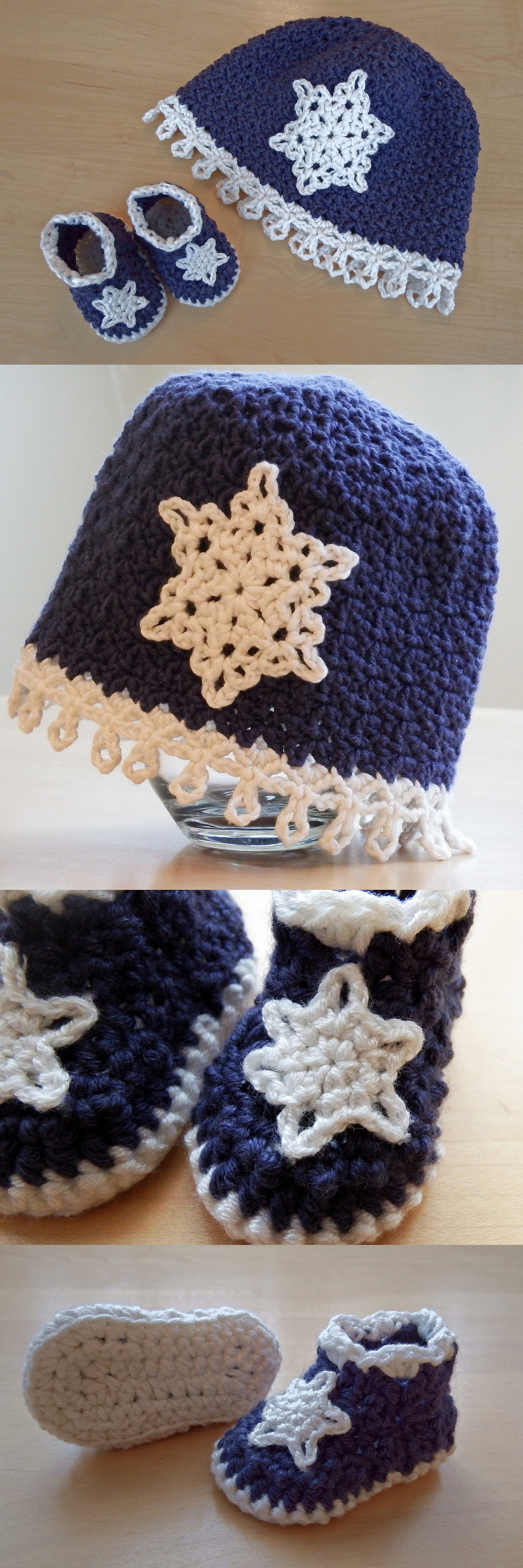 Icicles Baby Booties | Make My Day Creative