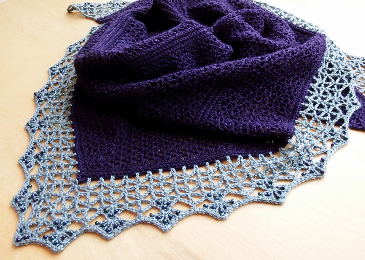 Atlantic Lace Shawl
