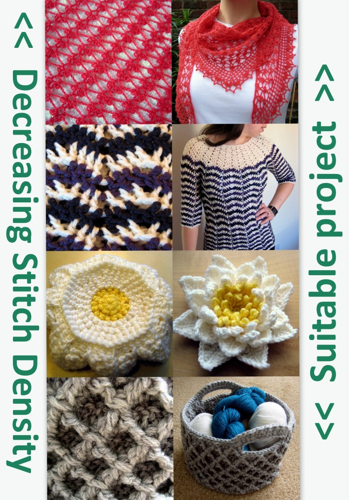 How to select the right crochet stitch pattern for your project - tips from Make My Day Creative