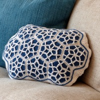Moroccan Motif Cushion