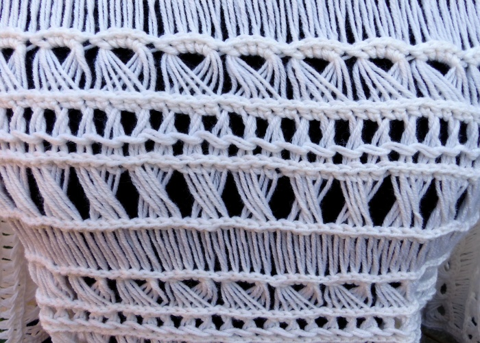 Fancy Broomstick Lace Crochet Stitches - Free tutorial at Make My Day Creative