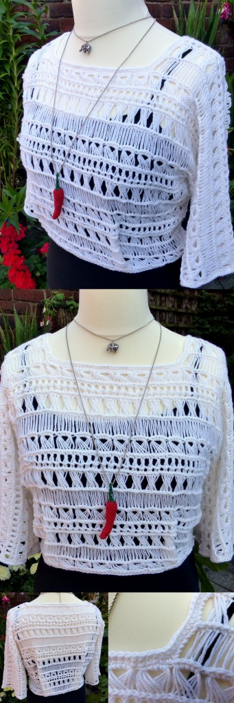Best Crochet Pattern Maker : Indian Summer Lace Top Make My Day Creative