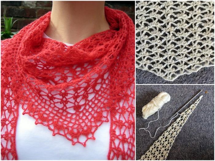 Winter Buds Scarf - free crochet pattern
