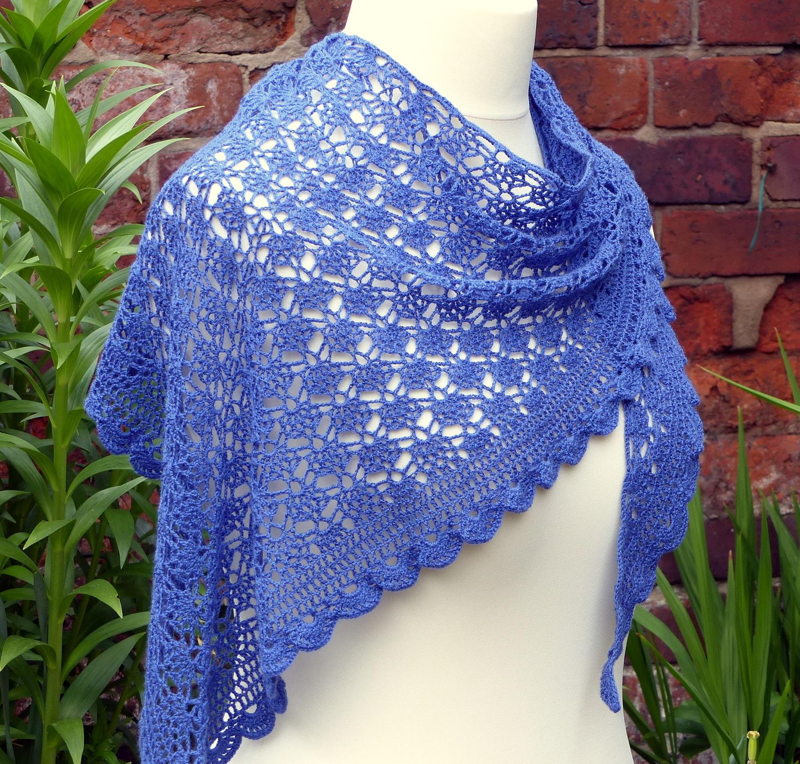 Mediterranean Lace Shawl Make My Day Creative