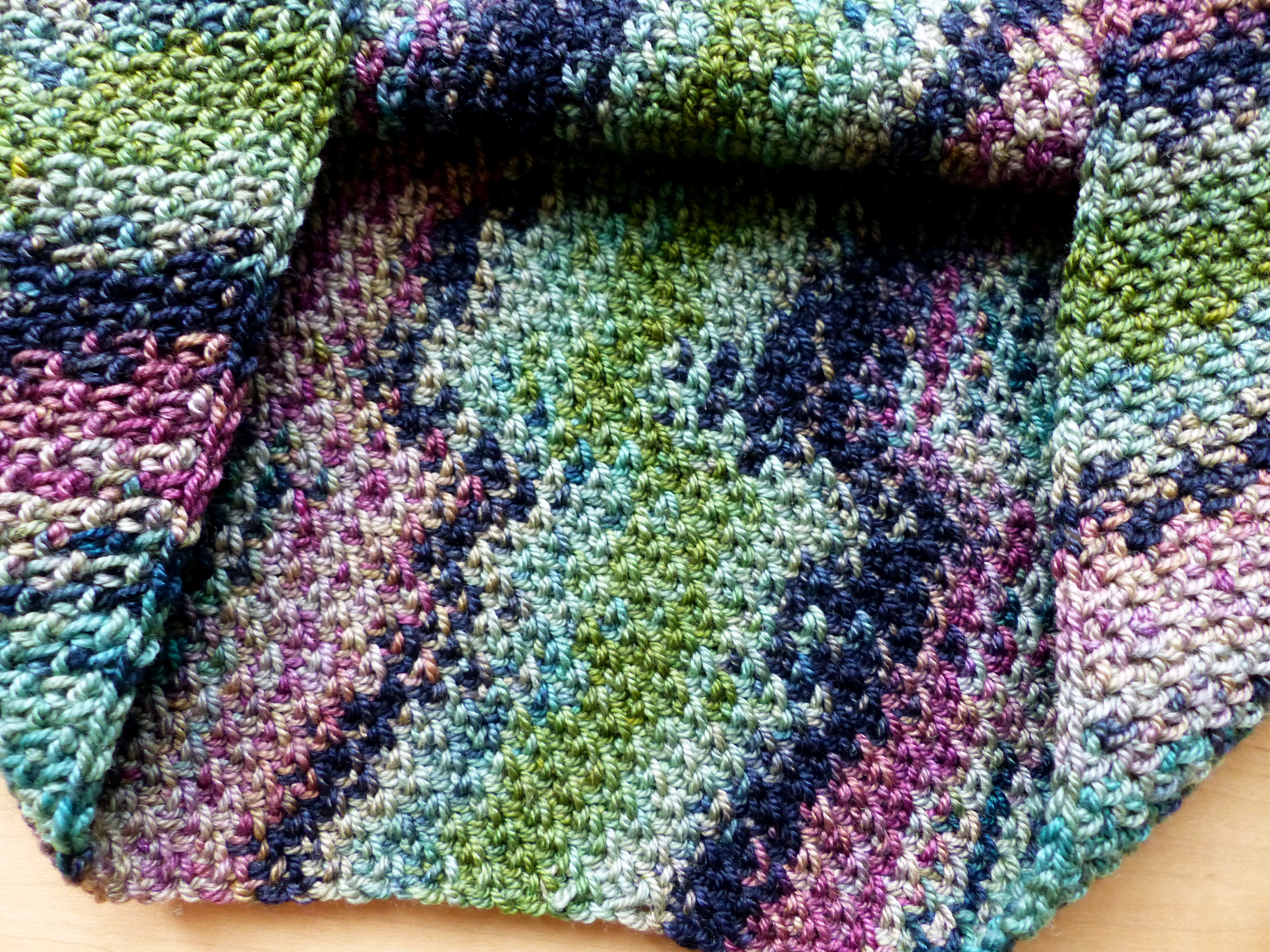 Colour Pool Cowl | Make My Day Creative