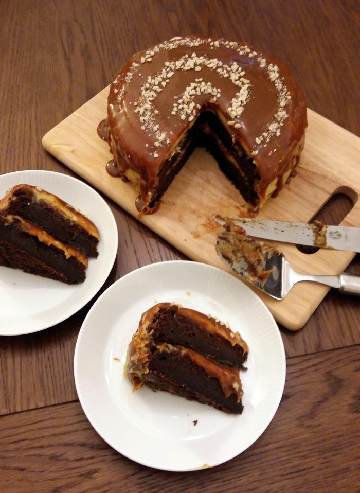 Chocolate and Whiskey Cake